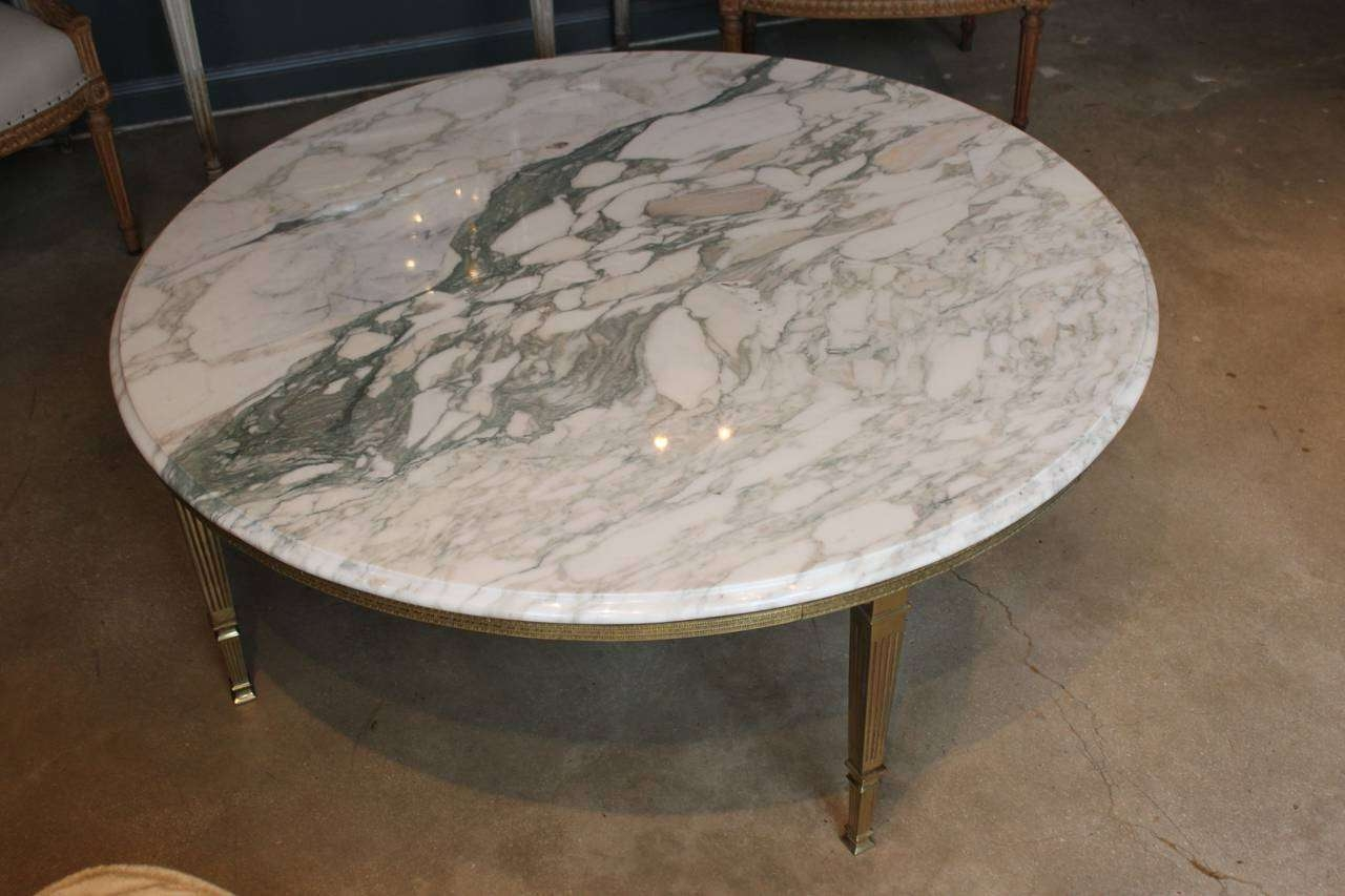 Ideas Of A Round Marble Coffee Table — Home Design Ideas With Regard To Fashionable Marble Round Coffee Tables (View 17 of 20)
