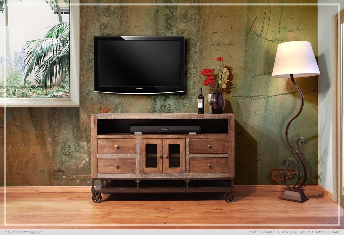 Ifd :: Tv Stands / 560 Urban Gold For Gold Tv Cabinets (View 4 of 20)