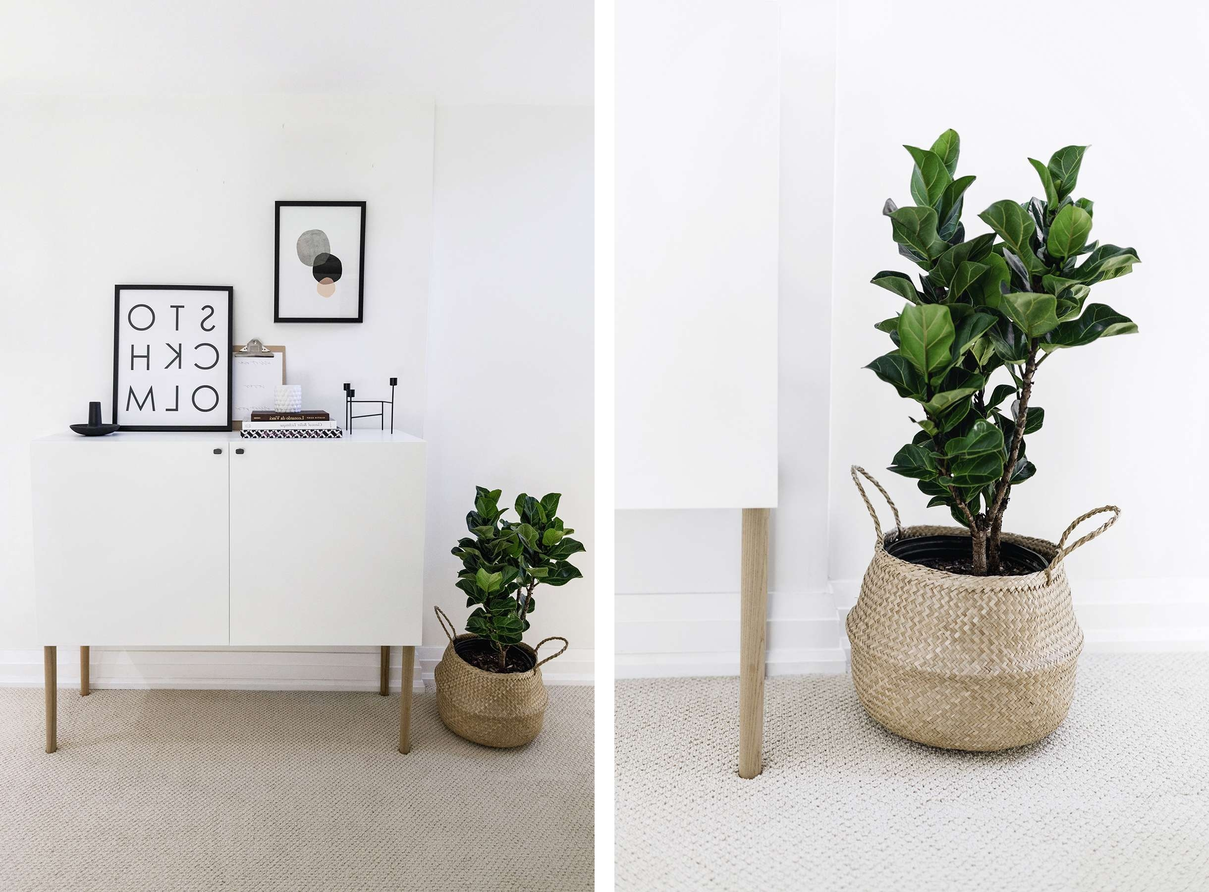 Ikea Besta Hack: Scandinavian Sideboard Cabinet | Happy Grey Lucky With Ikea Besta Sideboards (View 10 of 20)