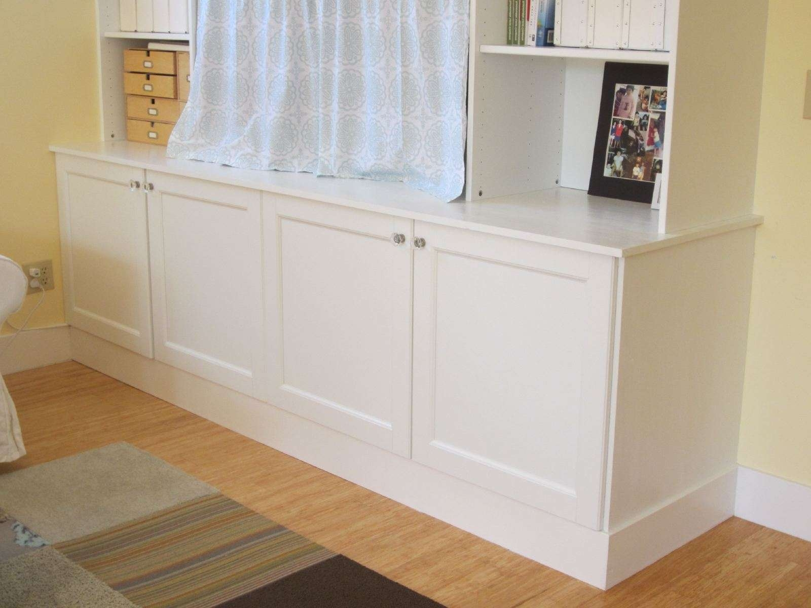 Ikea Hack 2: Besta Built In Family Room Tv Bookshelf – Shirley For Ikea Built In Tv Cabinets (View 7 of 20)