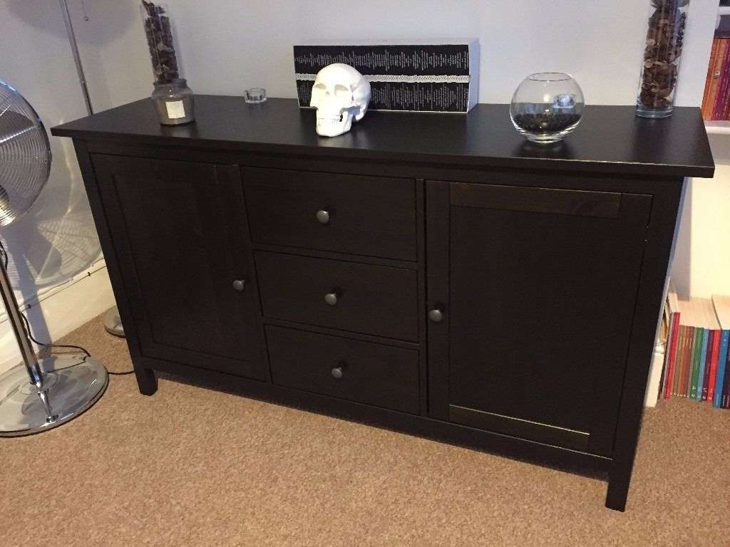 Ikea Hemnes Sideboard Black/brown | In Woodford, London | Gumtree Within Hemnes Sideboards (View 11 of 20)