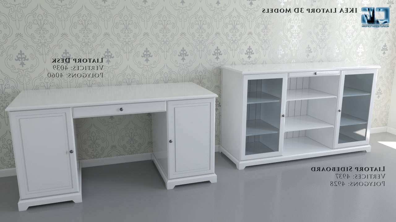 ikea liatorp desk gray hostgarcia. Black Bedroom Furniture Sets. Home Design Ideas