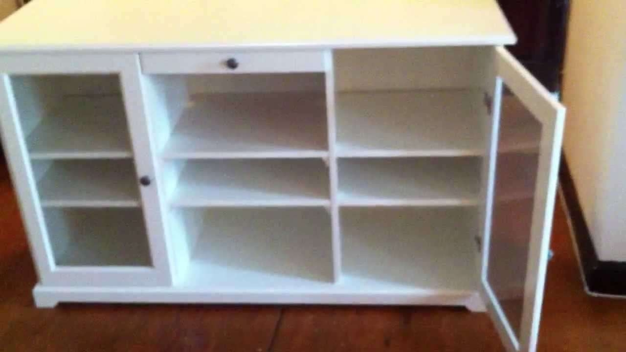Ikea Liatorp Tv Stand Assembly Service Video In Owing Mills Md Pertaining To Liatorp Sideboards (View 18 of 20)