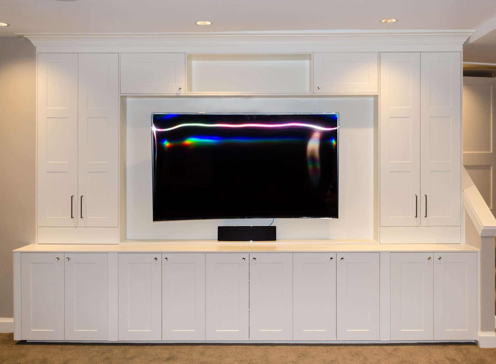 Ikea Media Cabinet, Still Stunning Even Tv's Off | Homesfeed For Ikea Built In Tv Cabinets (View 4 of 20)