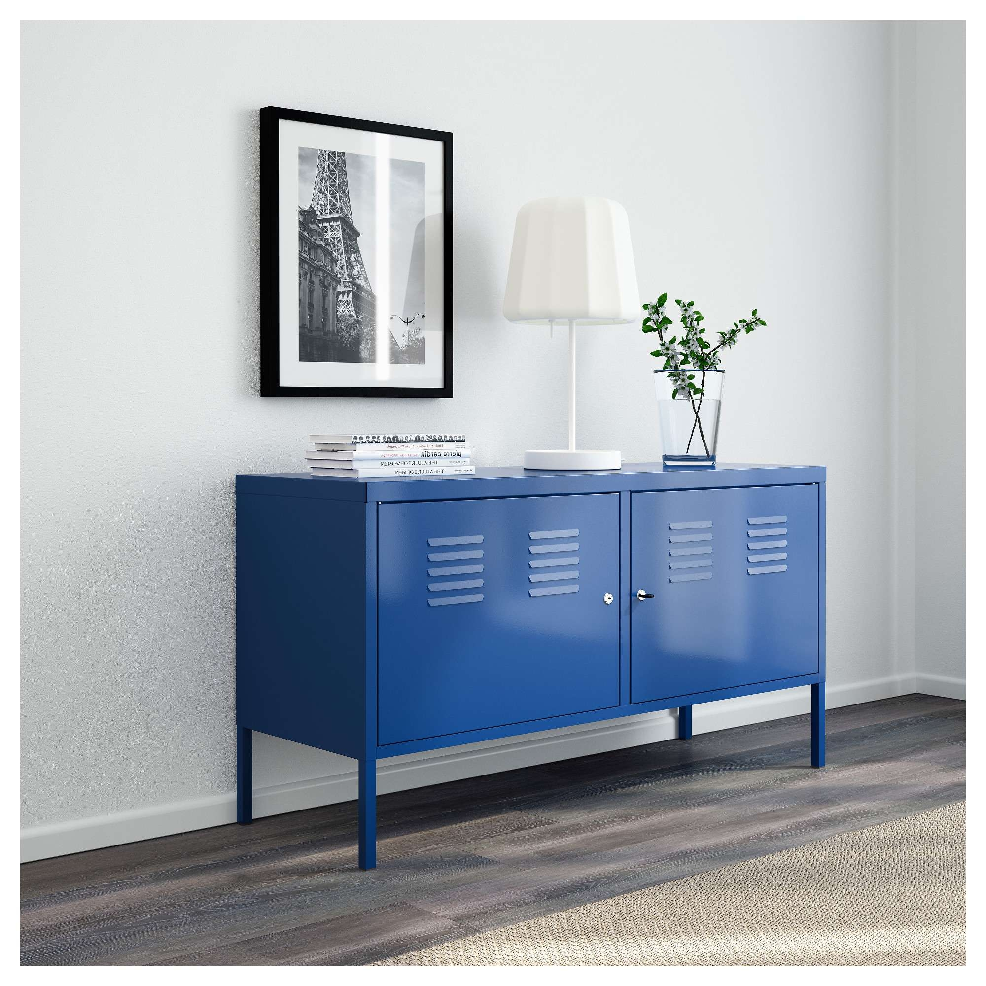 Ikea Ps Cabinet Blue 119X63 Cm – Ikea Throughout Blue Sideboards (View 7 of 20)