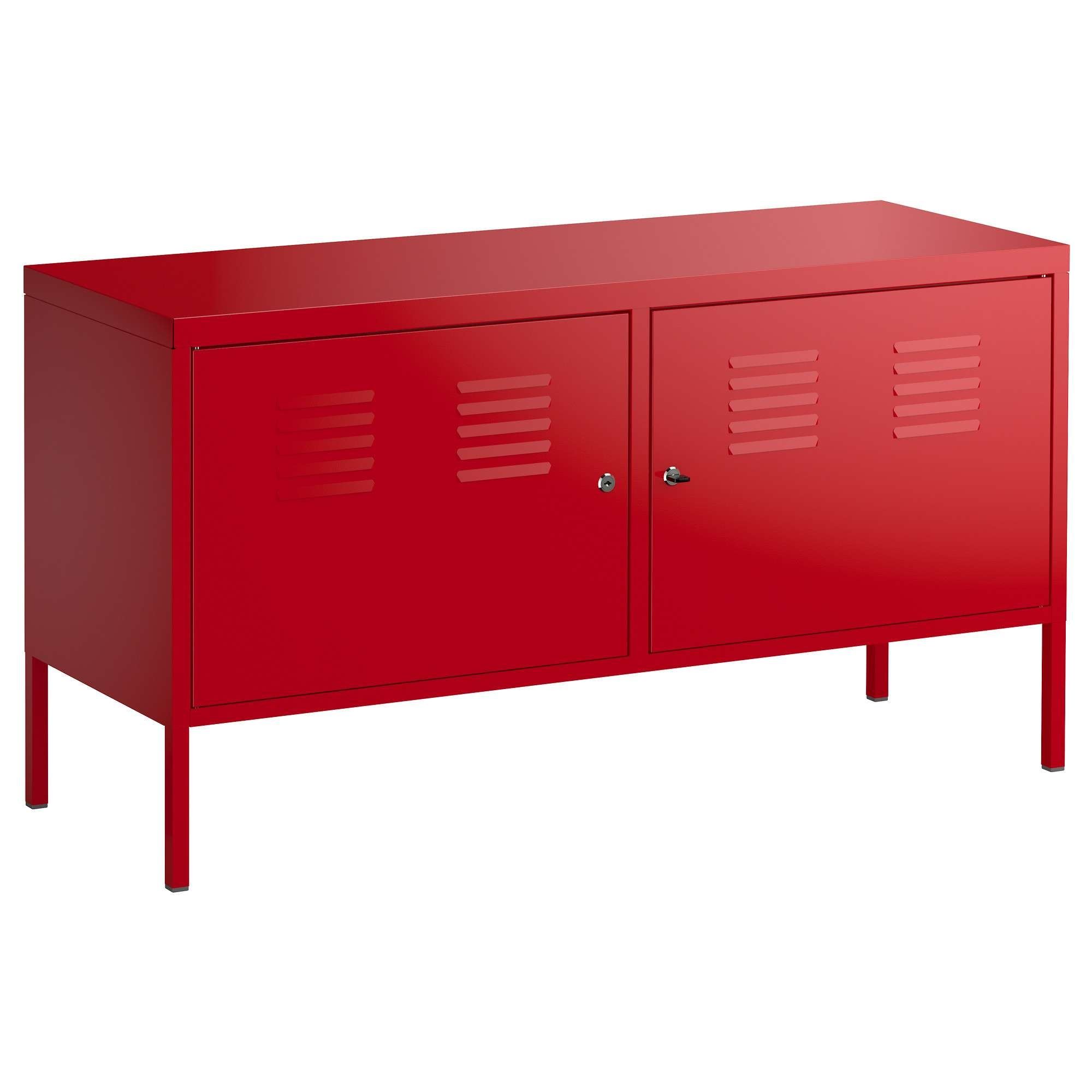 Ikea Ps Cabinet Red 119X63 Cm – Ikea Regarding Red Sideboards (View 2 of 20)