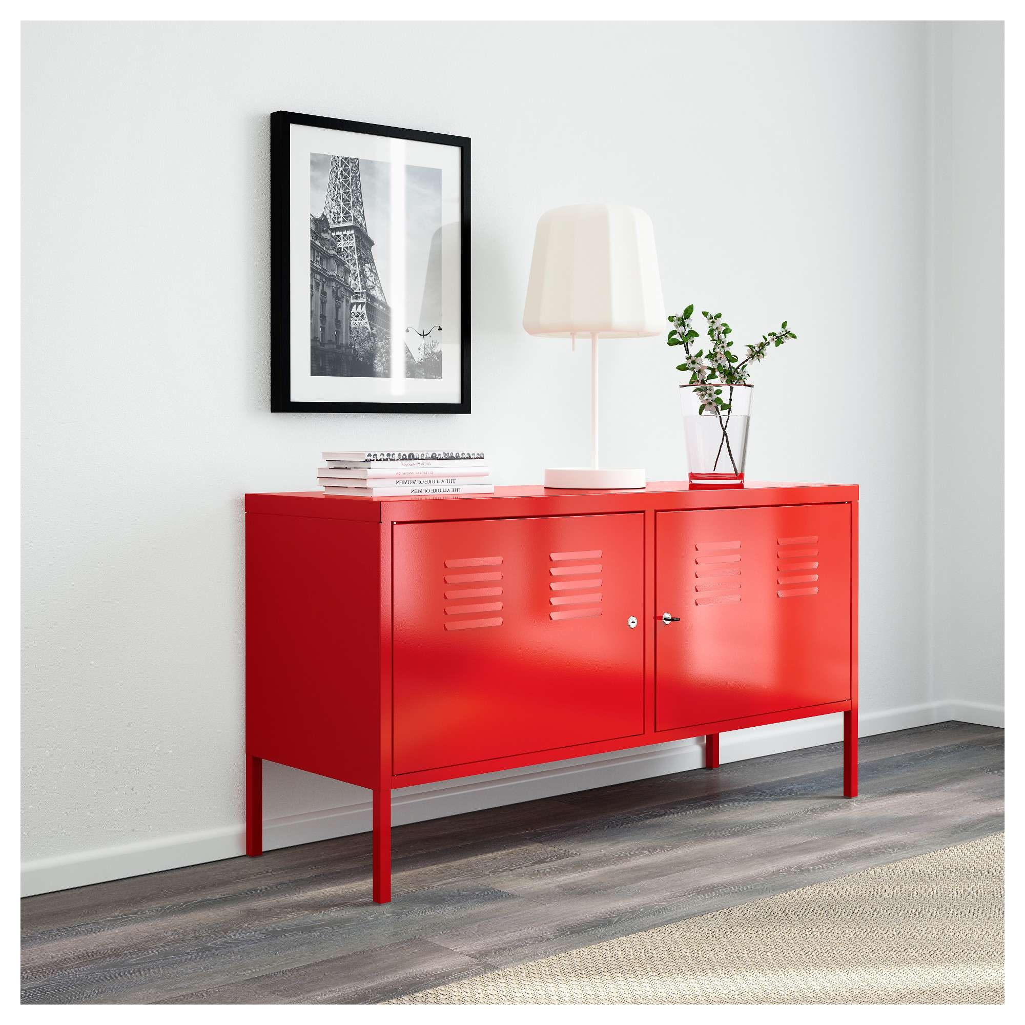Ikea Ps Cabinet – Red – Ikea Pertaining To Ikea Red Sideboards (Gallery 2 of 20)
