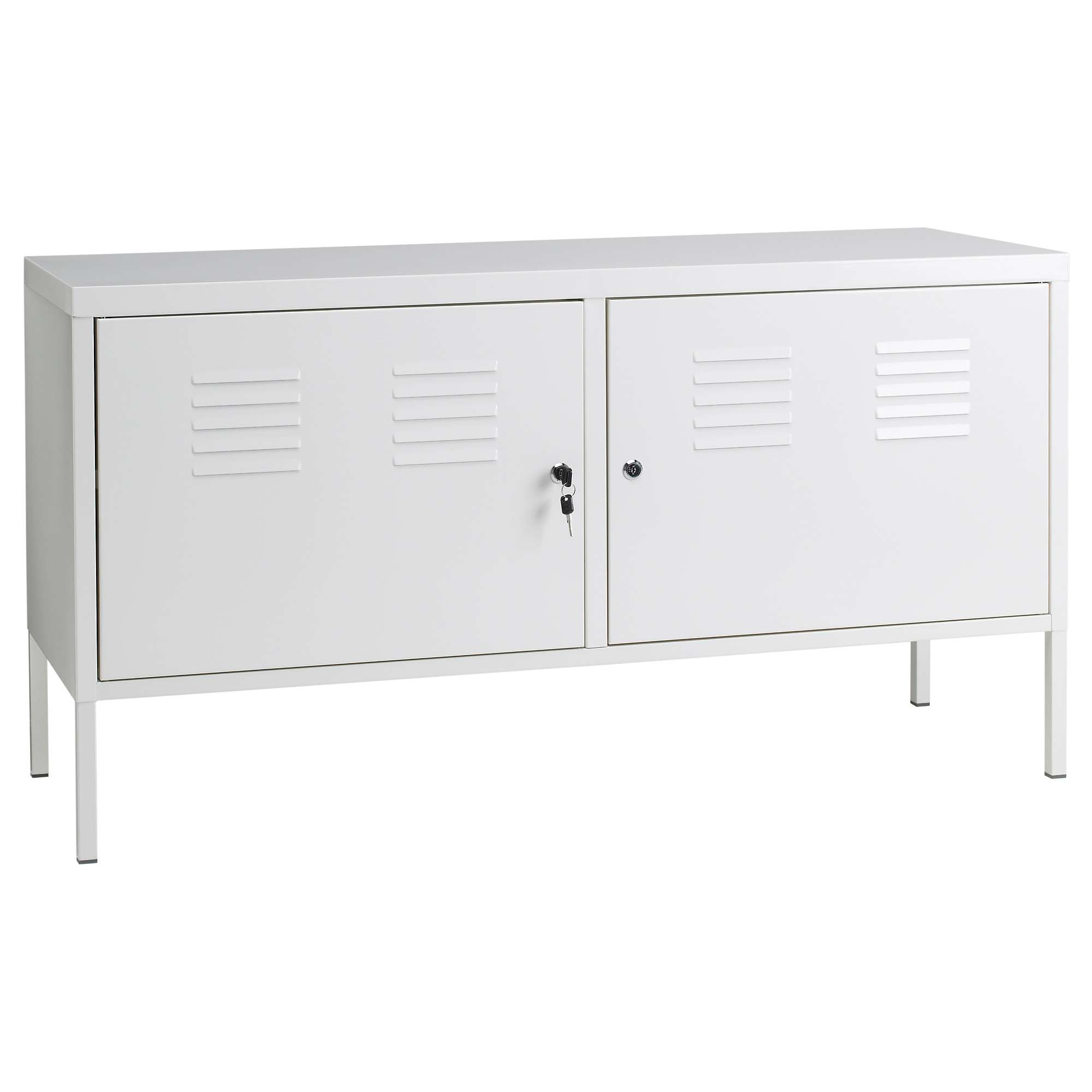 Ikea Ps Cabinet White 119X63 Cm – Ikea Pertaining To Metal Sideboards (View 11 of 20)