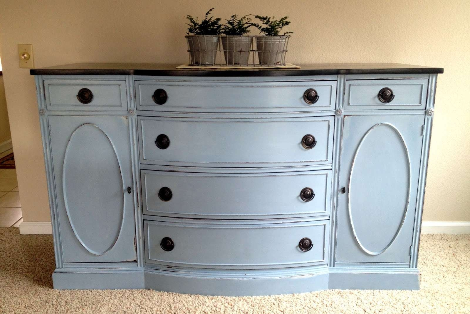I'm A Yarner: Annie Sloan Chalk Paint Pertaining To Annie Sloan Painted Sideboards (View 8 of 20)