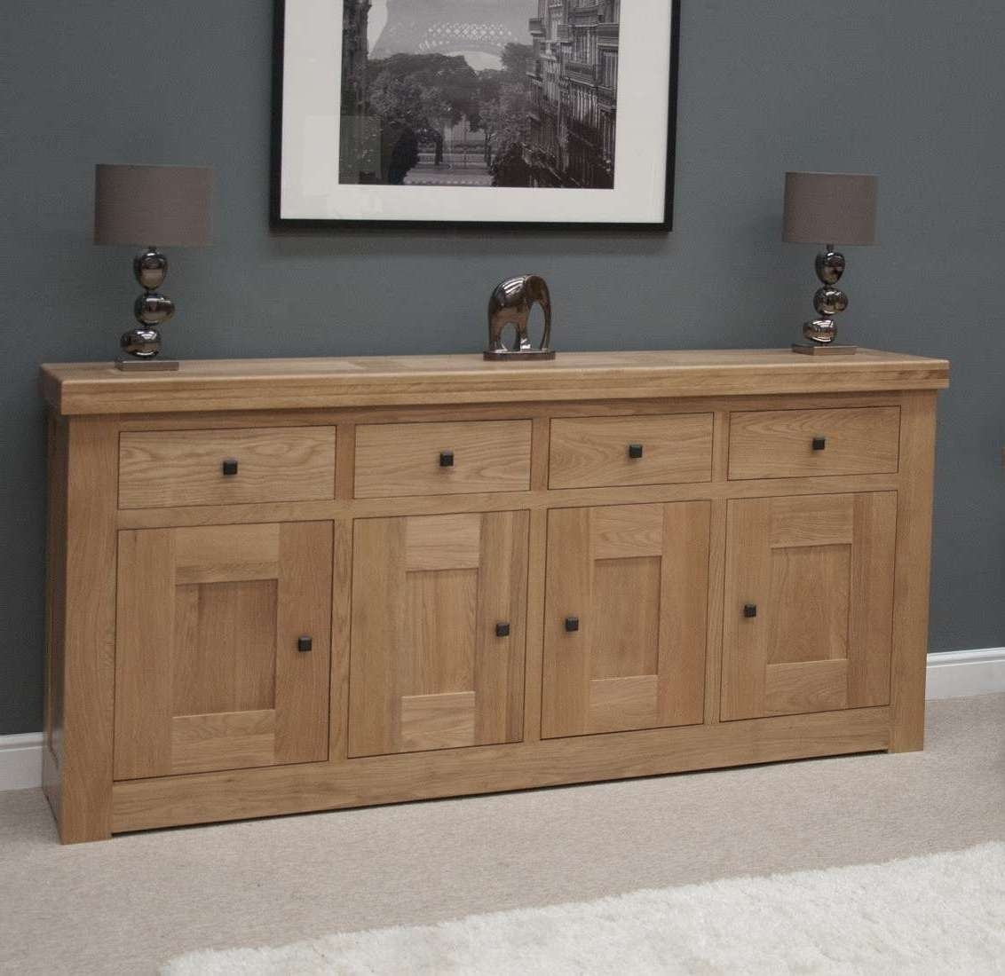 Image Gallery Of Solid Oak Sideboards (View 6 Of 20 Photos) With Regard To French Sideboards (Gallery 14 of 20)