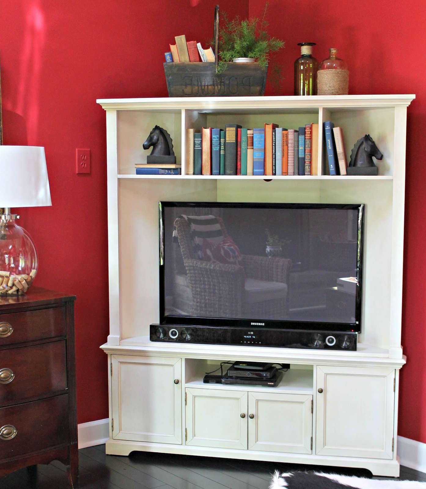 Images About Tv Cabinet On Pinterest Corner Cabinets And In Corner Tv Cabinets With Hutch (Gallery 16 of 20)