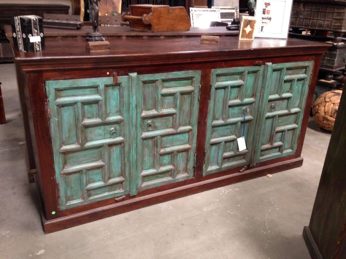 Imported Rustic Sideboards From India, China, Indonesia And Mexico In Indian Sideboards Furniture (View 8 of 20)