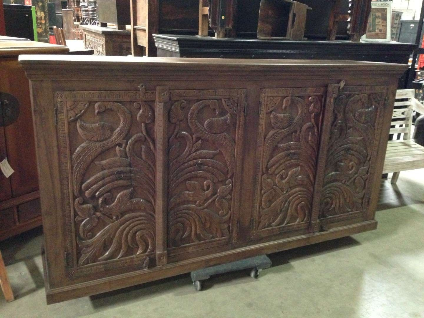 Imported Rustic Sideboards From India, China, Indonesia And Mexico Inside Indian Sideboards Furniture (View 5 of 20)