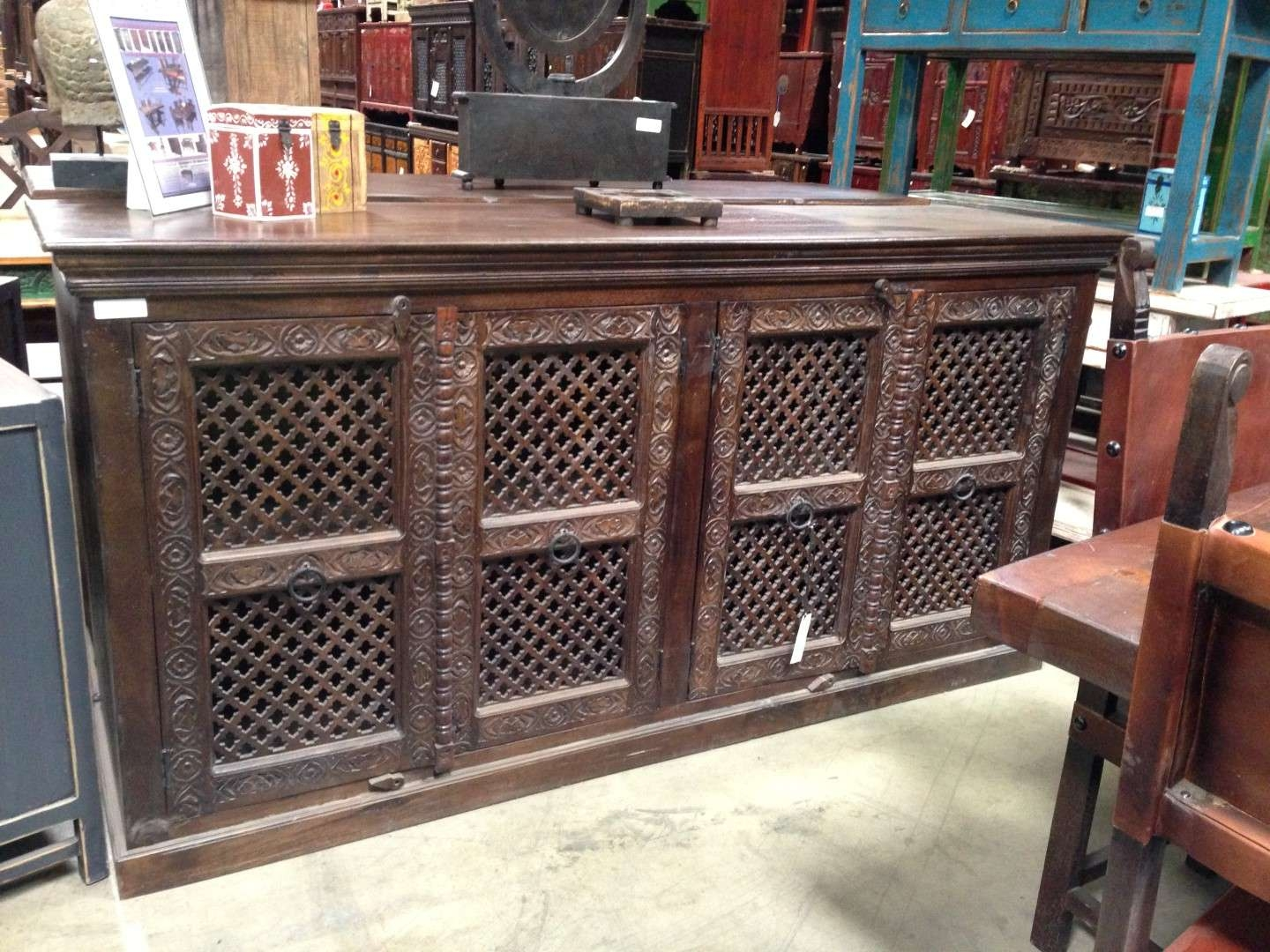 Imported Rustic Sideboards From India, China, Indonesia And Mexico Inside Indian Sideboards Furniture (View 9 of 20)