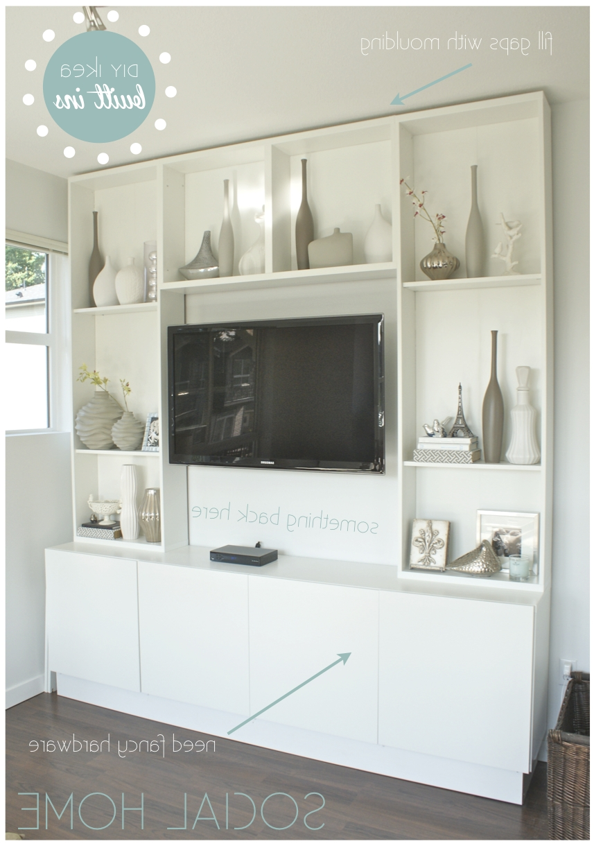In Tv Cabinet Diy Intended For Ikea Built In Tv Cabinets (Gallery 8 of 20)
