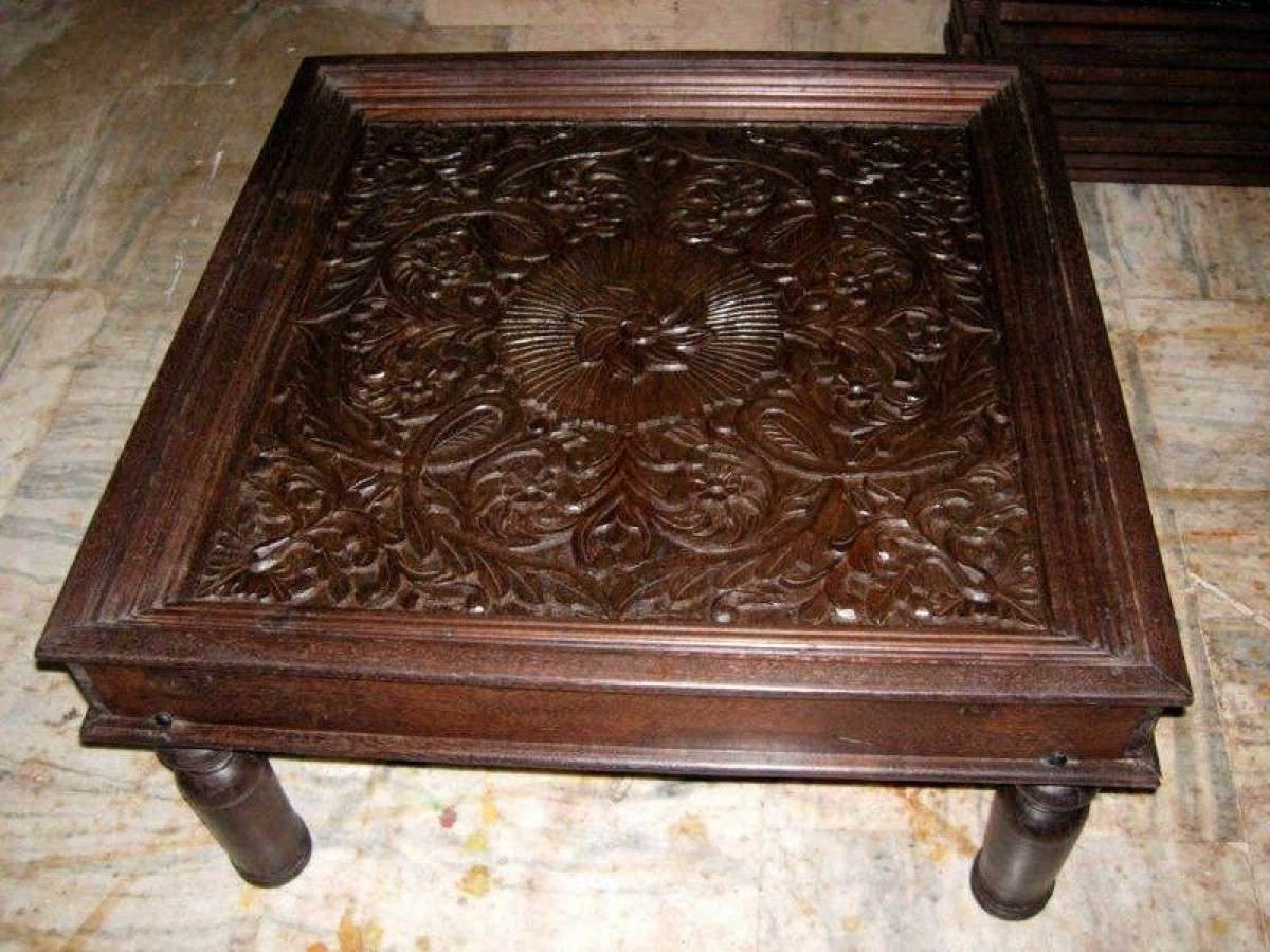 Indian Coffee Table For Well Liked Indian Coffee Tables (View 7 of 20)