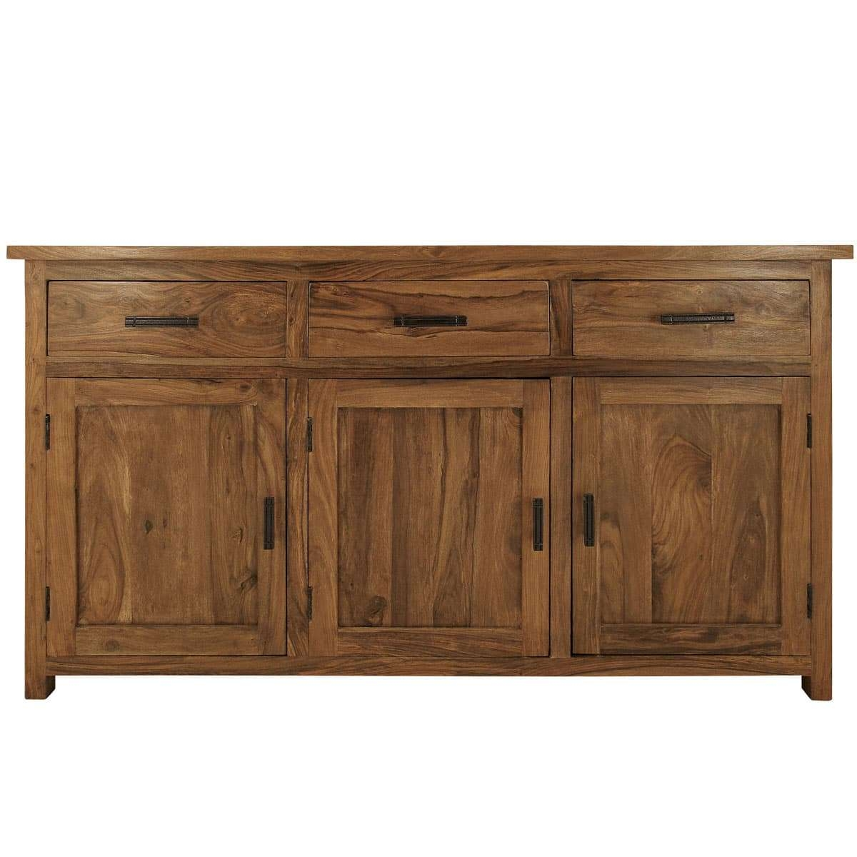 Indian Solid Dark Wood Sideboards Uk | Myakka.co (View 12 of 20)