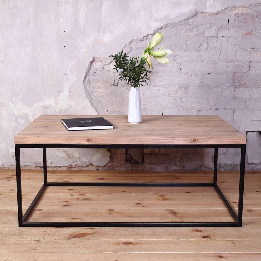 Industrial Style Coffee Tablecosywood (View 10 of 20)