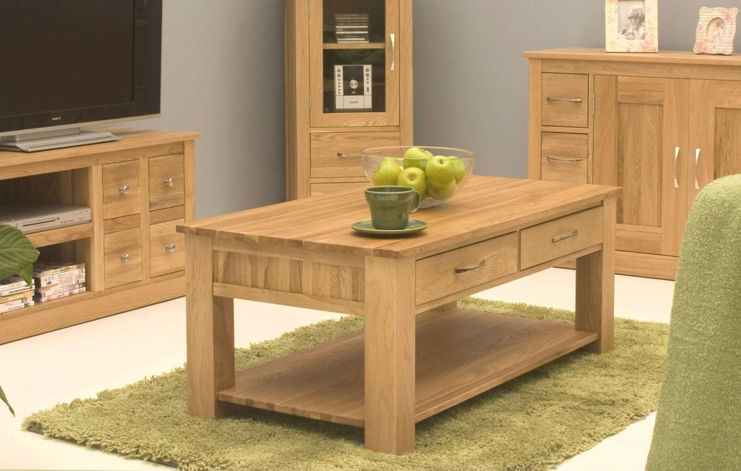 Inspiration Ideas Oak Living Room Furniture Conran Solid Oak Inside Most Up To Date Solid Oak Coffee Table With Storage (View 7 of 20)
