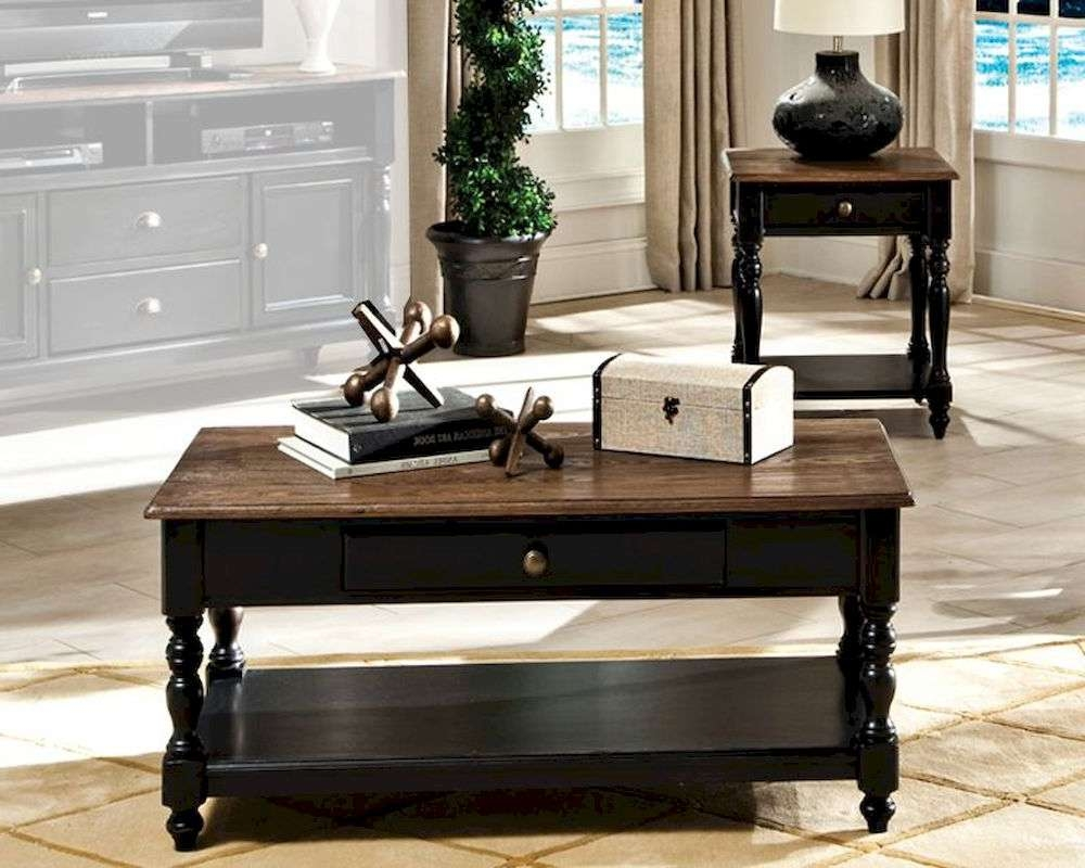 Intercon Solid Wood Coffee Table Set Gramercy Park Ingpta4824Set Throughout 2018 Solid Wood Coffee Tables (View 14 of 20)