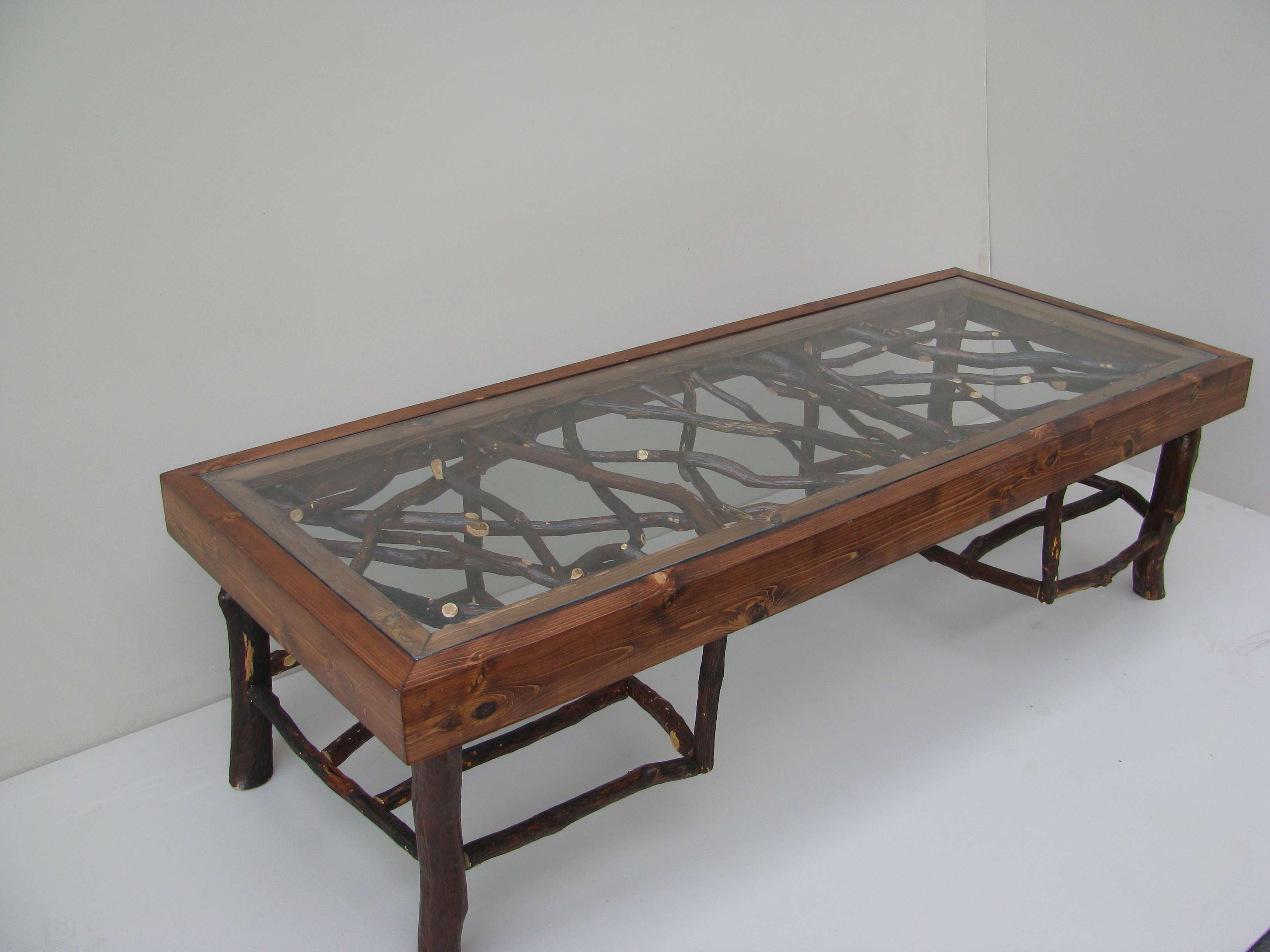 View Gallery Of Reclaimed Wood And Glass Coffee Tables Showing - Rustic wood and glass coffee table