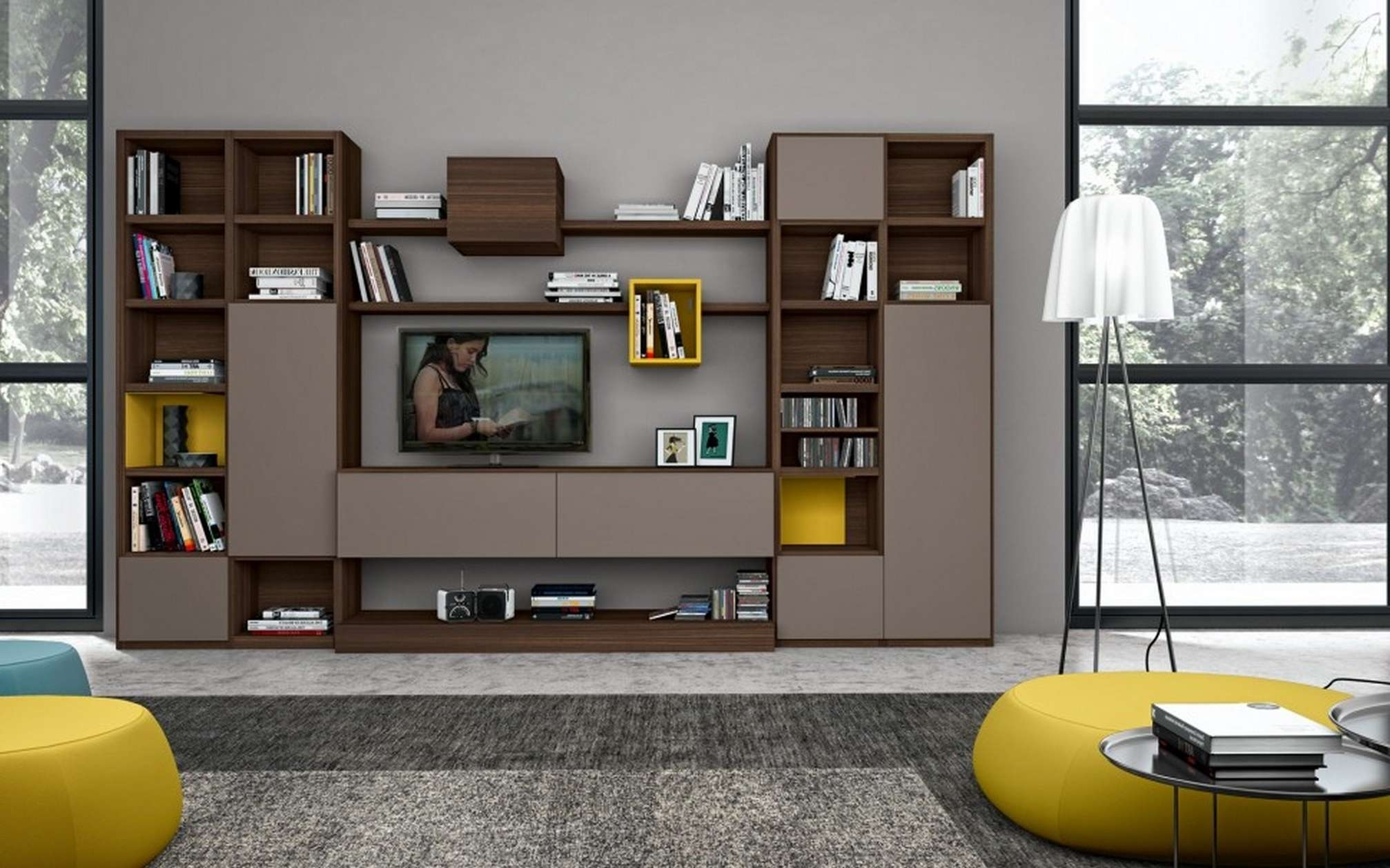 Interior. Wall Mounted Tv Cabinet – Nettietatpconsultants With Baby Proof Contemporary Tv Cabinets (Gallery 11 of 20)