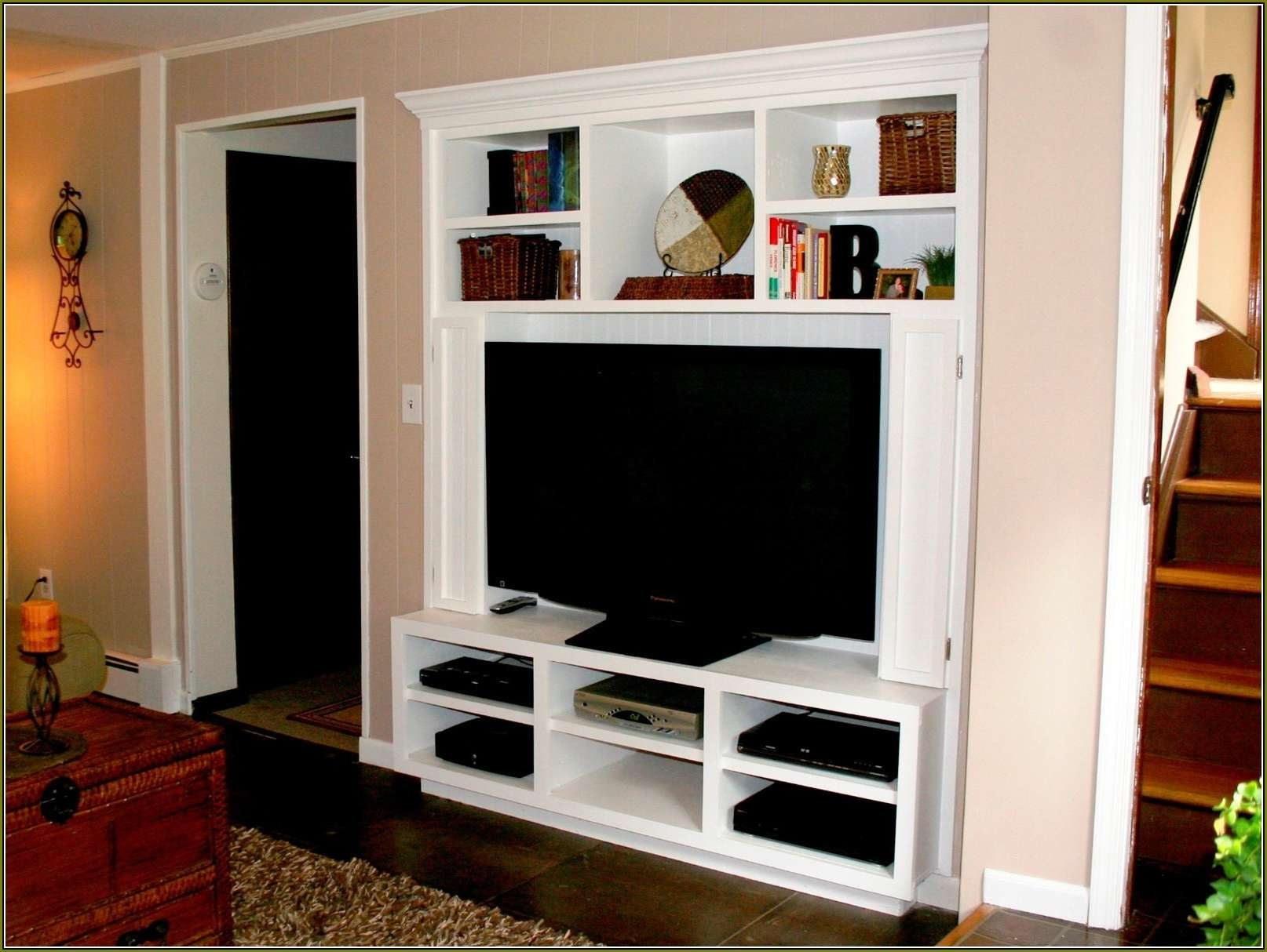 Invigorating Wall Mounted Tv Cabinets For As Wells As Flat Screens In Wall Mounted Tv Cabinets For Flat Screens (View 8 of 20)