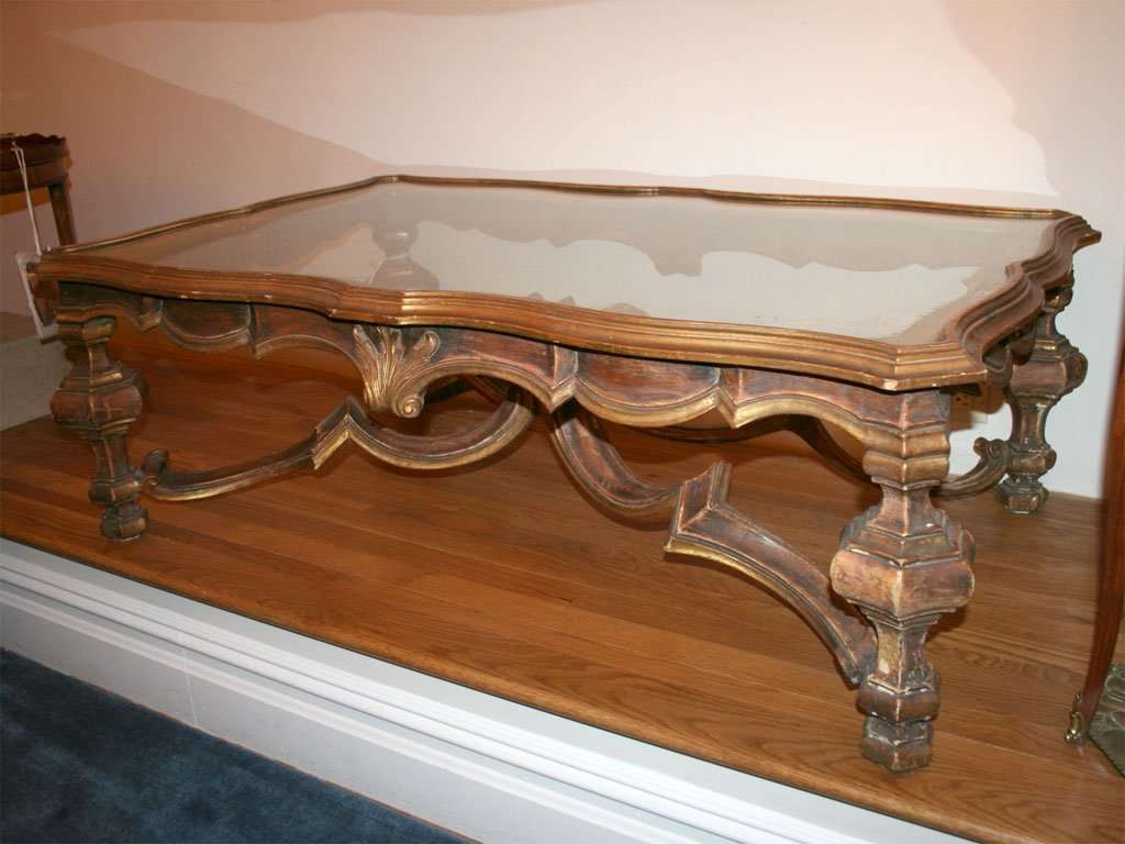 Italian Baroque Style Coffee Table At 1Stdibs Pertaining To Latest Baroque Coffee Tables (View 10 of 20)