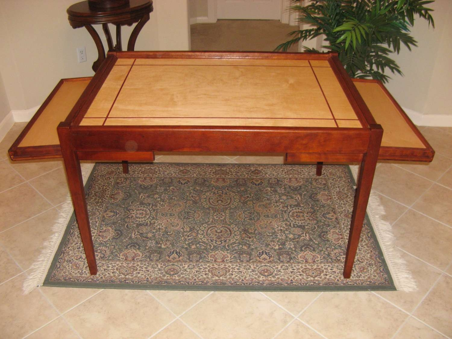Jigsaw Puzzle Table With Additional Legroom In Most Current Puzzle Coffee Tables (View 12 of 20)