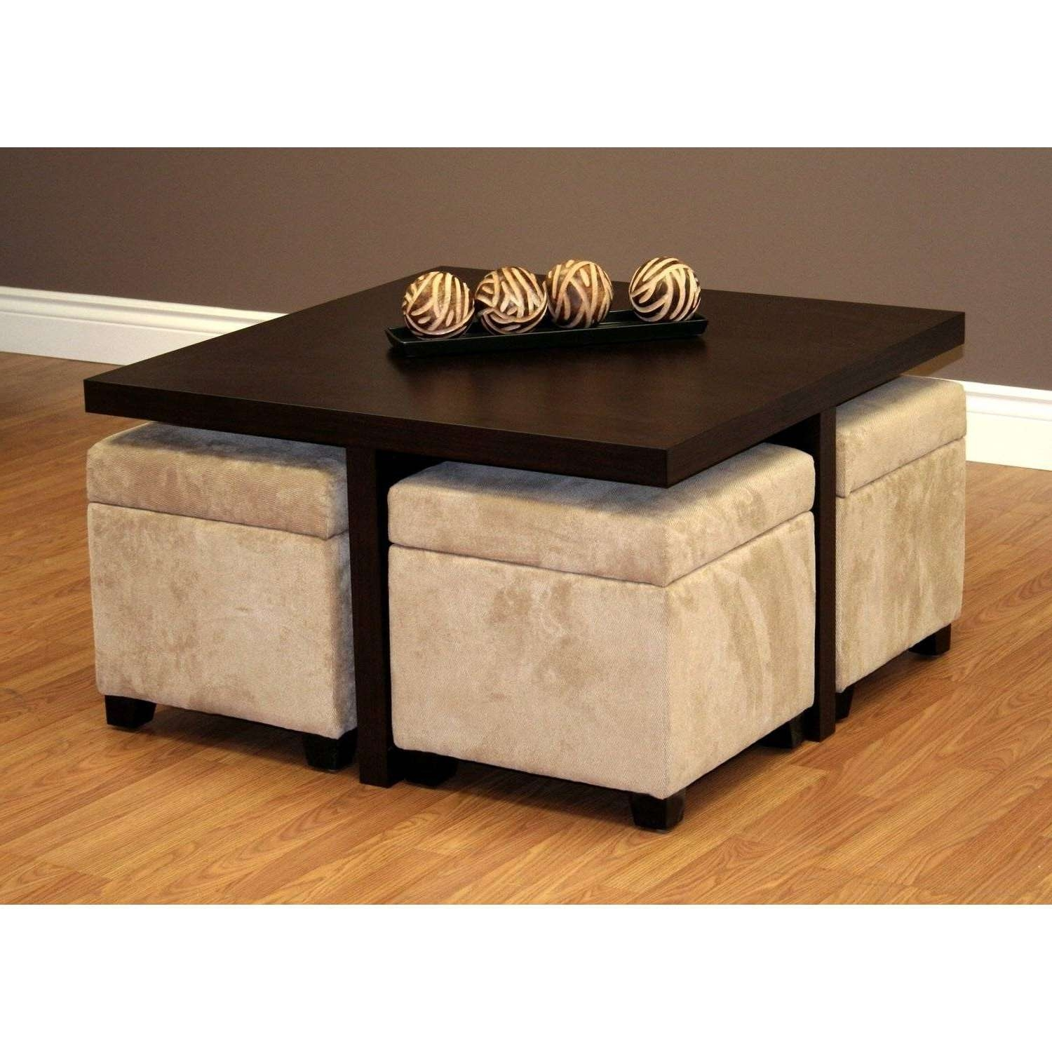 Kanson Coffee Table Storage Cubes • Coffee Table Ideas Within Favorite Square Coffee Tables With Storages (View 8 of 20)