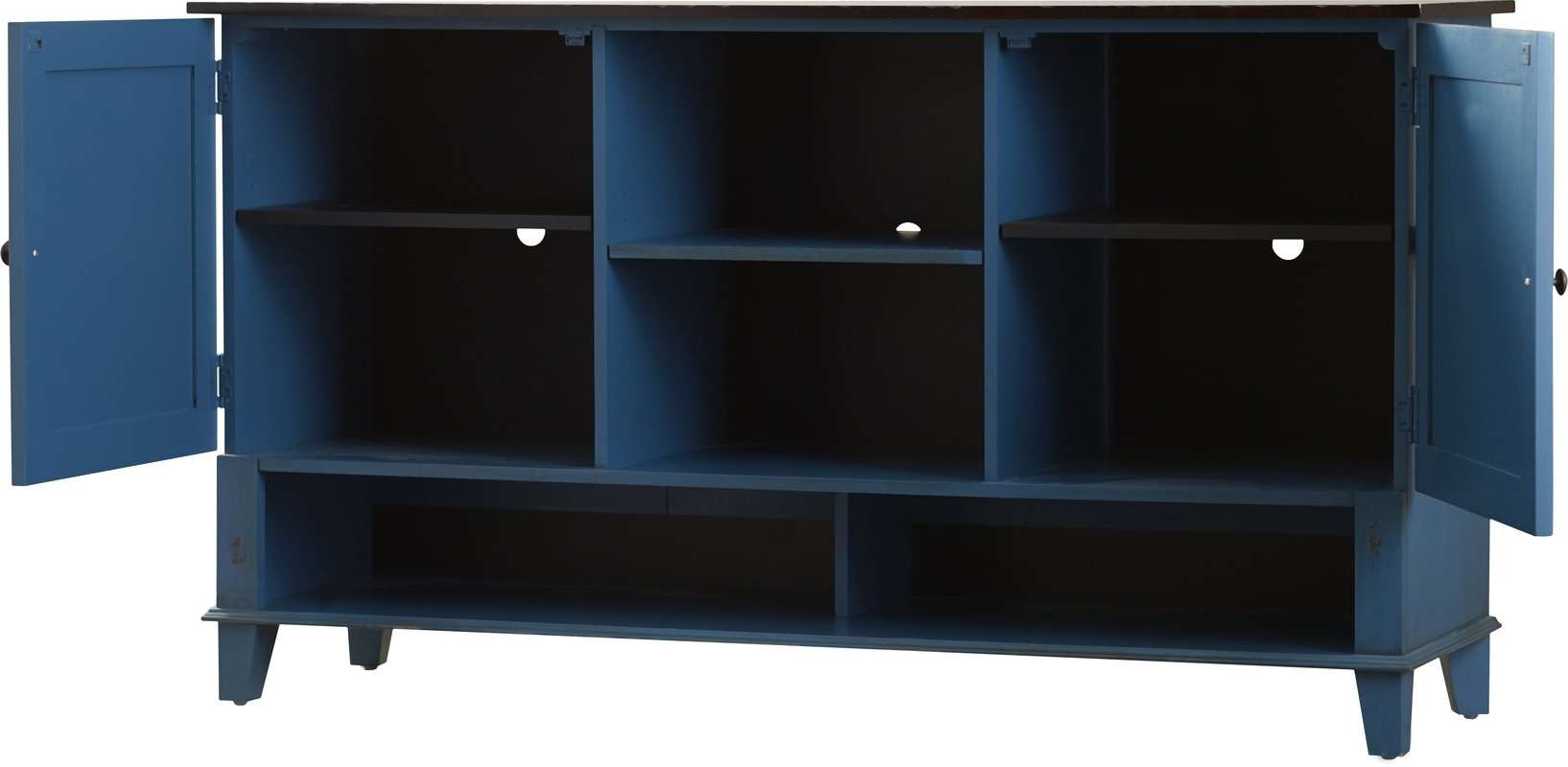"""Kathy Ireland Homemartin Furniture Eclectic Deluxe 60"""" Tv For Eclectic Sideboards (View 19 of 20)"""