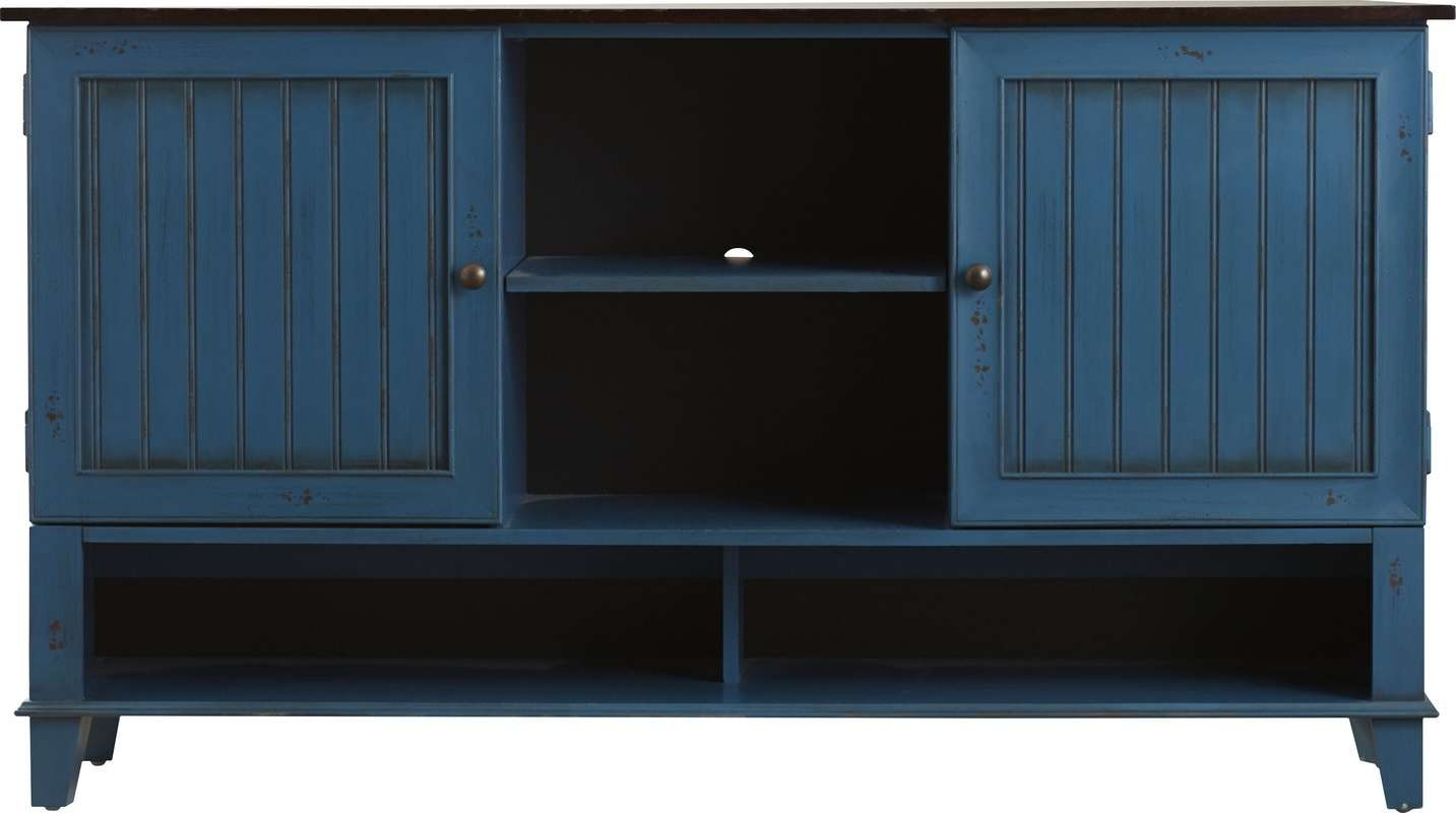 """Kathy Ireland Homemartin Furniture Eclectic Deluxe 60"""" Tv Intended For Eclectic Sideboards (View 14 of 20)"""