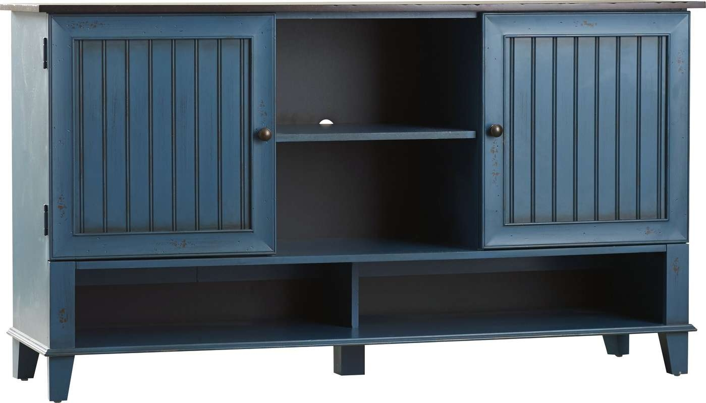 """Kathy Ireland Homemartin Furniture Eclectic Deluxe 60"""" Tv Intended For Eclectic Sideboards (View 9 of 20)"""