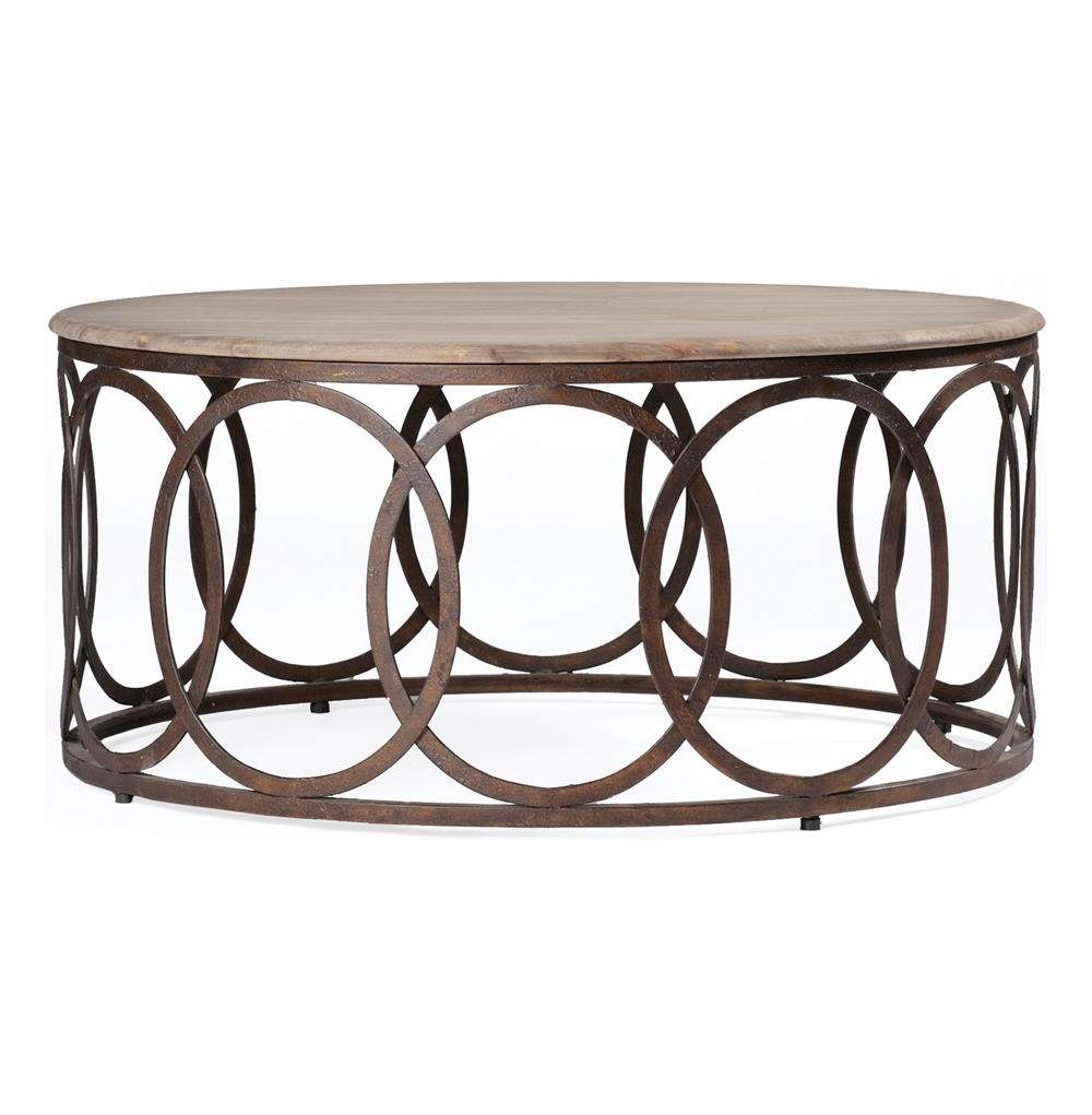 Kathy Kuo Home Within Preferred Circle Coffee Tables (View 12 of 20)