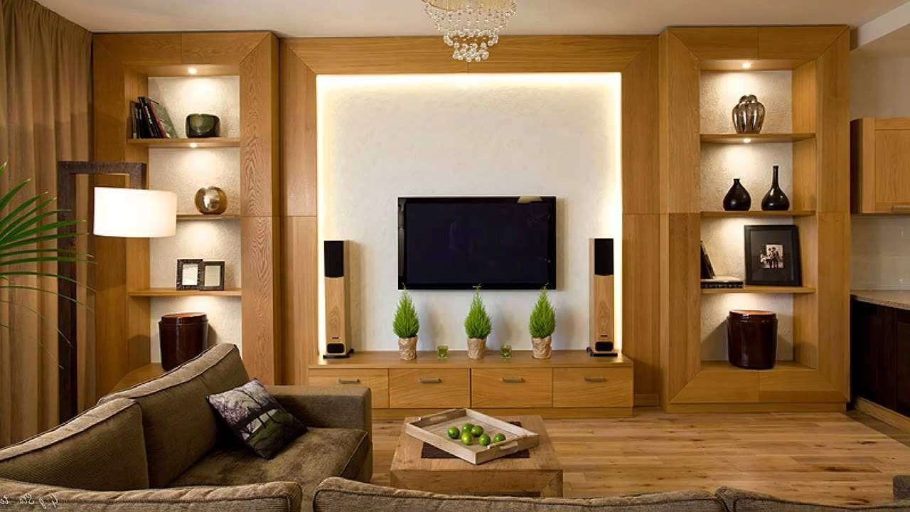 Kesar Interior Furnishing Modern Tv Cabinet Wall Units, Living Within Living Room Tv Cabinets (Gallery 3 of 20)