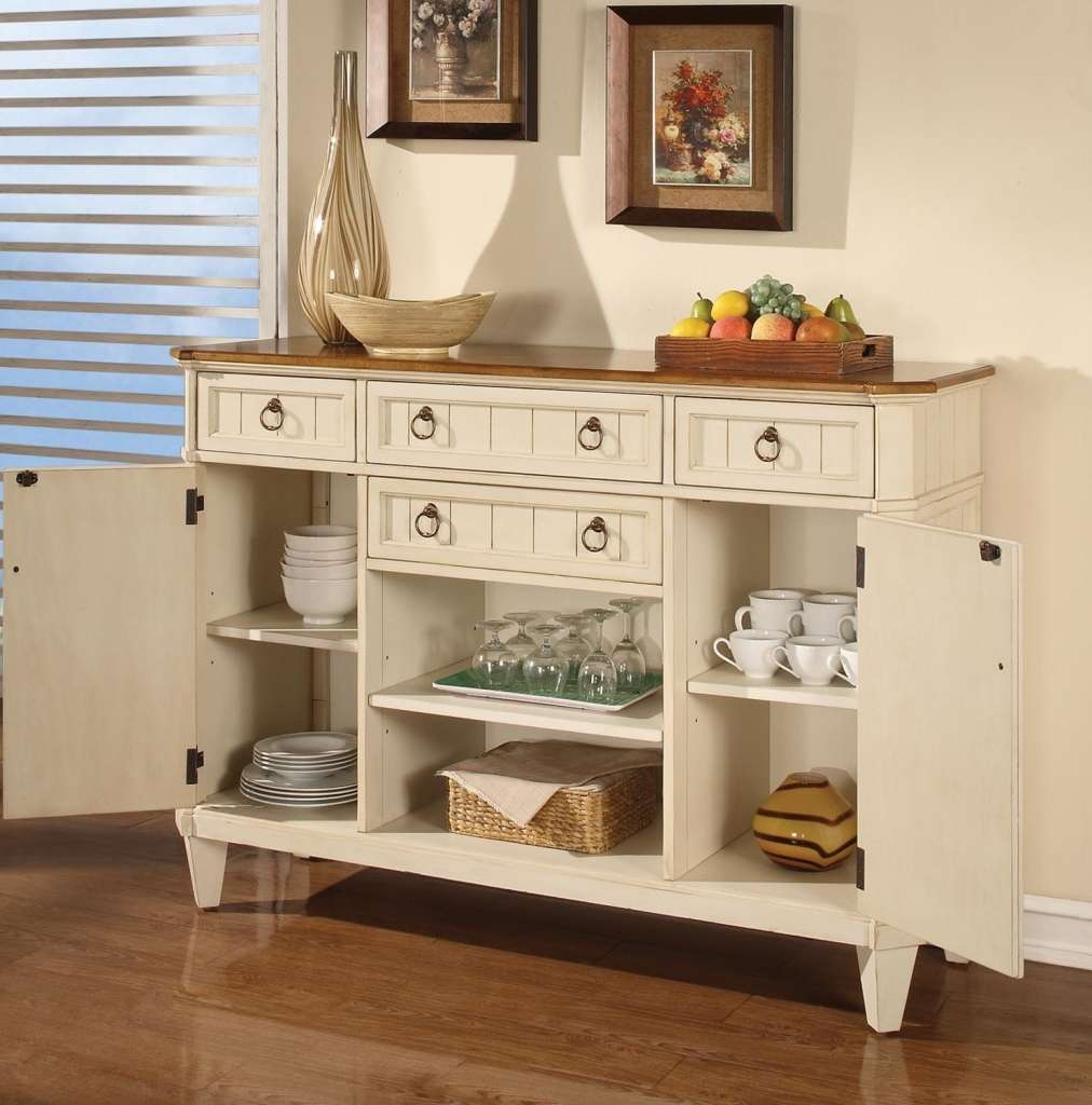 Kitchen Buffet Storage Cabinet Display — New Decoration : Useful Throughout Buffets And Sideboards (View 9 of 20)