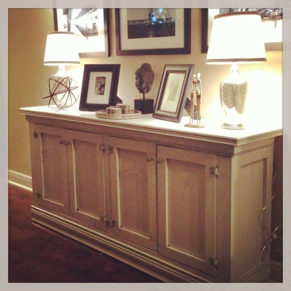 Kitchen : Fabulous Slim Sideboard Narrow Buffet Cabinet Wood Intended For Sideboards With Hutch (View 11 of 20)