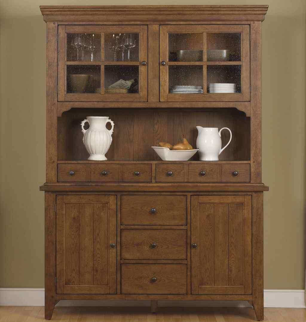 Kitchen Hutch Furniture Console Buffet Table Narrow Sideboards And Inside Sideboards With Hutch (View 20 of 20)