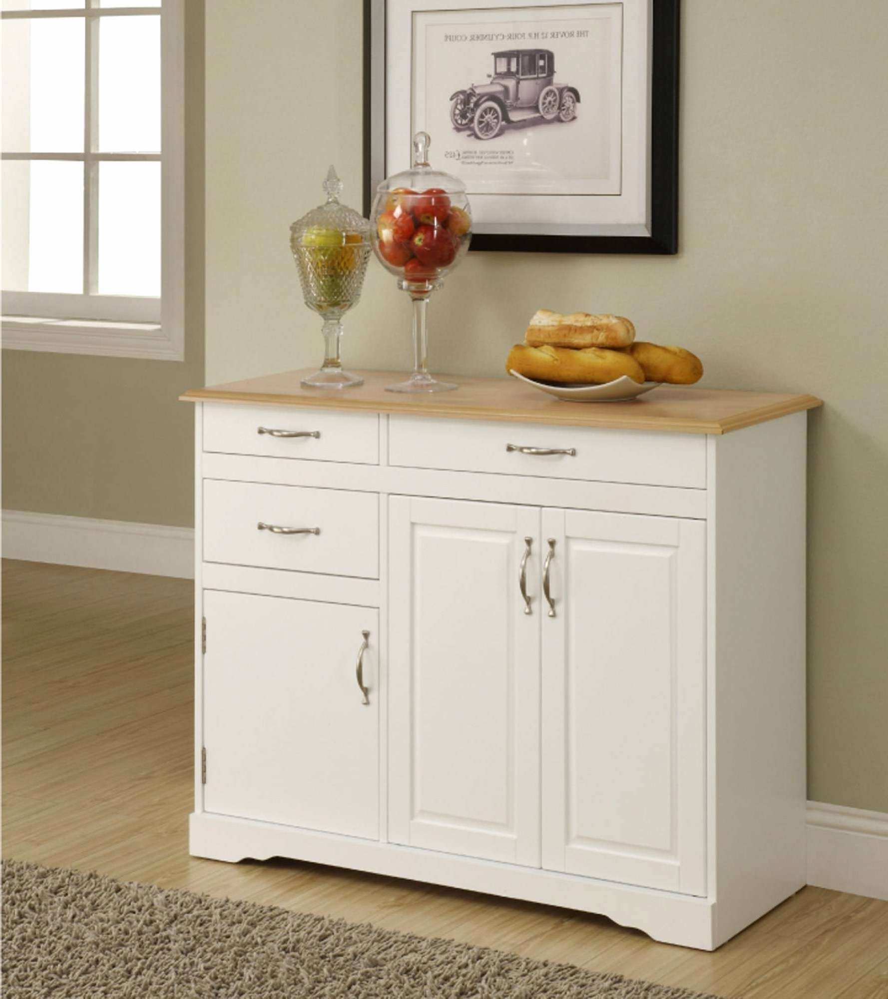Kitchen Sideboard Ideas Elegant 15 Ideas Of White Kitchen Intended For Elegant Sideboards (Gallery 17 of 20)