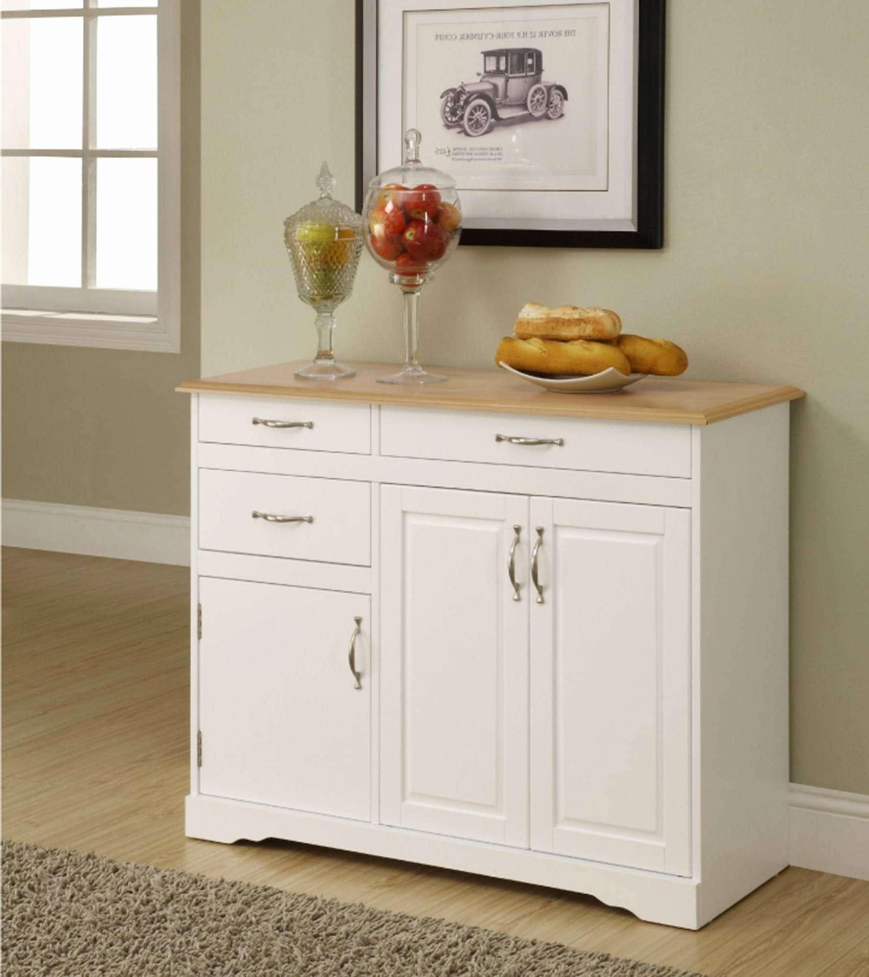 Kitchen Sideboard Ideas Elegant 15 Ideas Of White Kitchen Intended For Elegant Sideboards (View 17 of 20)