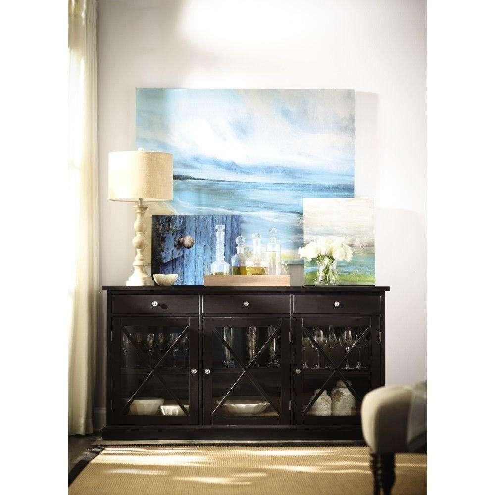 Kitchen Sideboards And Buffets – Home Design Ideas And Pictures For Black Sideboards And Buffets (View 19 of 20)