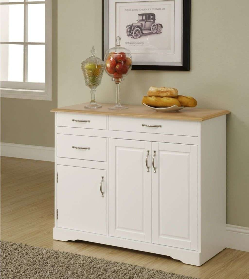 Kitchen: Unfinished Wooden Kitchen Sideboard – How To Choose A Within Unfinished Sideboards (View 7 of 20)
