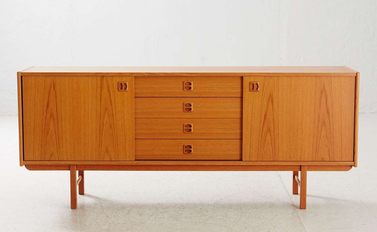 Korsör Teak Sideboard From Ikea, 1960S For Sale At Pamono Inside Ikea Sideboards (View 11 of 20)