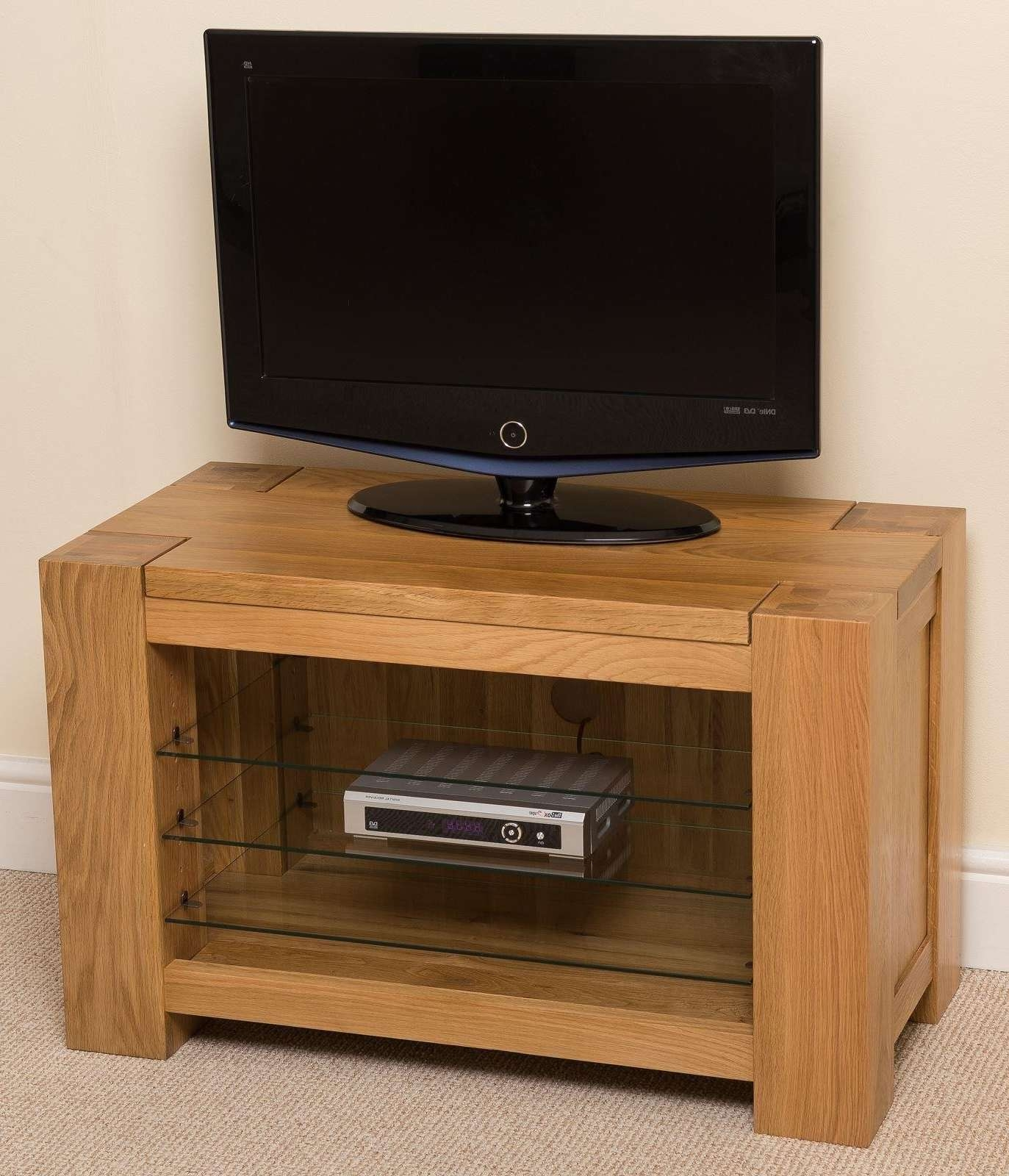 Kuba Solid Oak Tv Unit Cabinet | Free Uk Delivery With Solid Oak Tv Cabinets (Gallery 10 of 20)