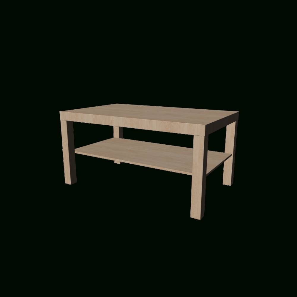 Lack Coffee Table, Birch Effect – Design And Decorate Your Room In 3D Within Newest Birch Coffee Tables (View 9 of 20)