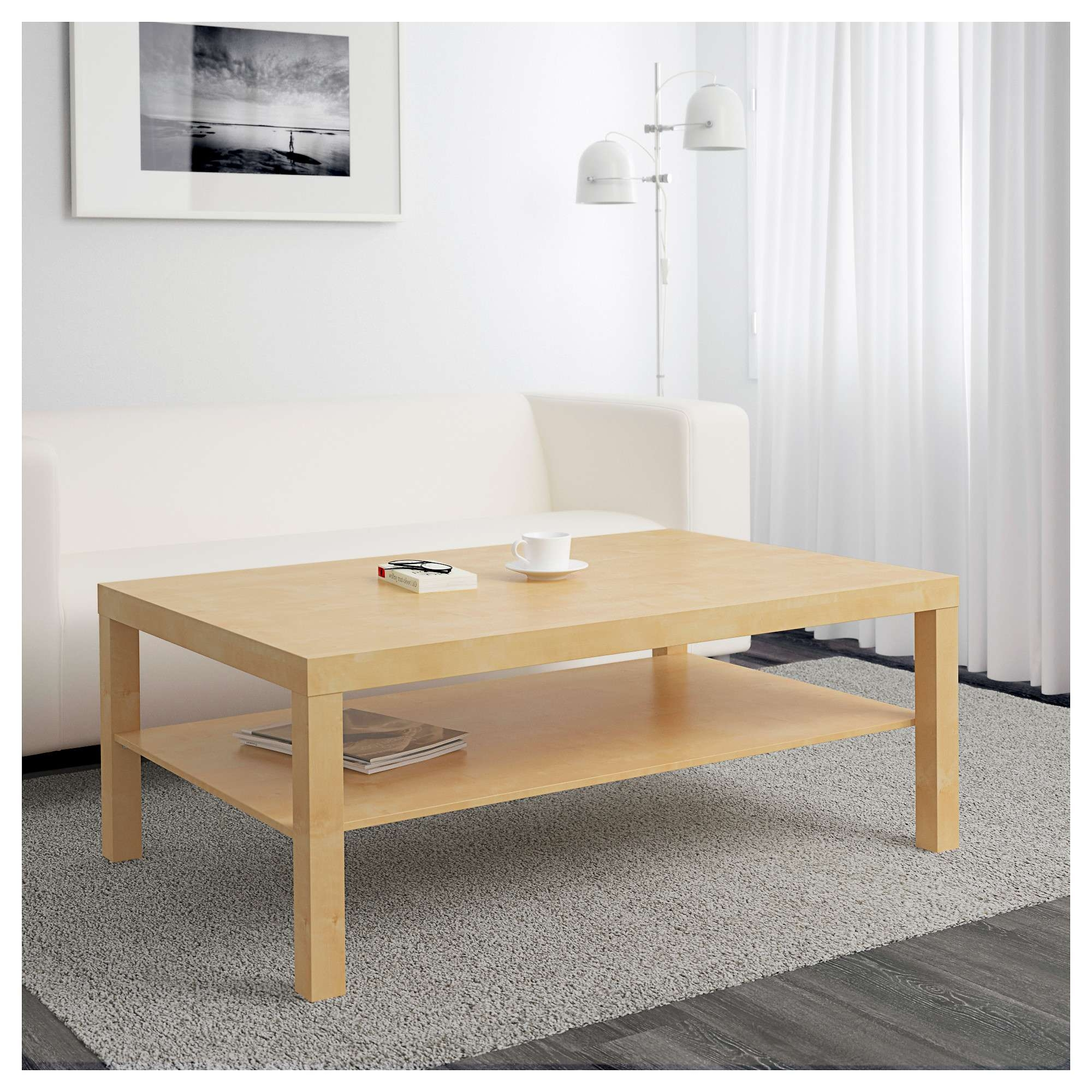 Lack Coffee Table – Birch Effect – Ikea Within Most Current Birch Coffee Tables (View 7 of 20)