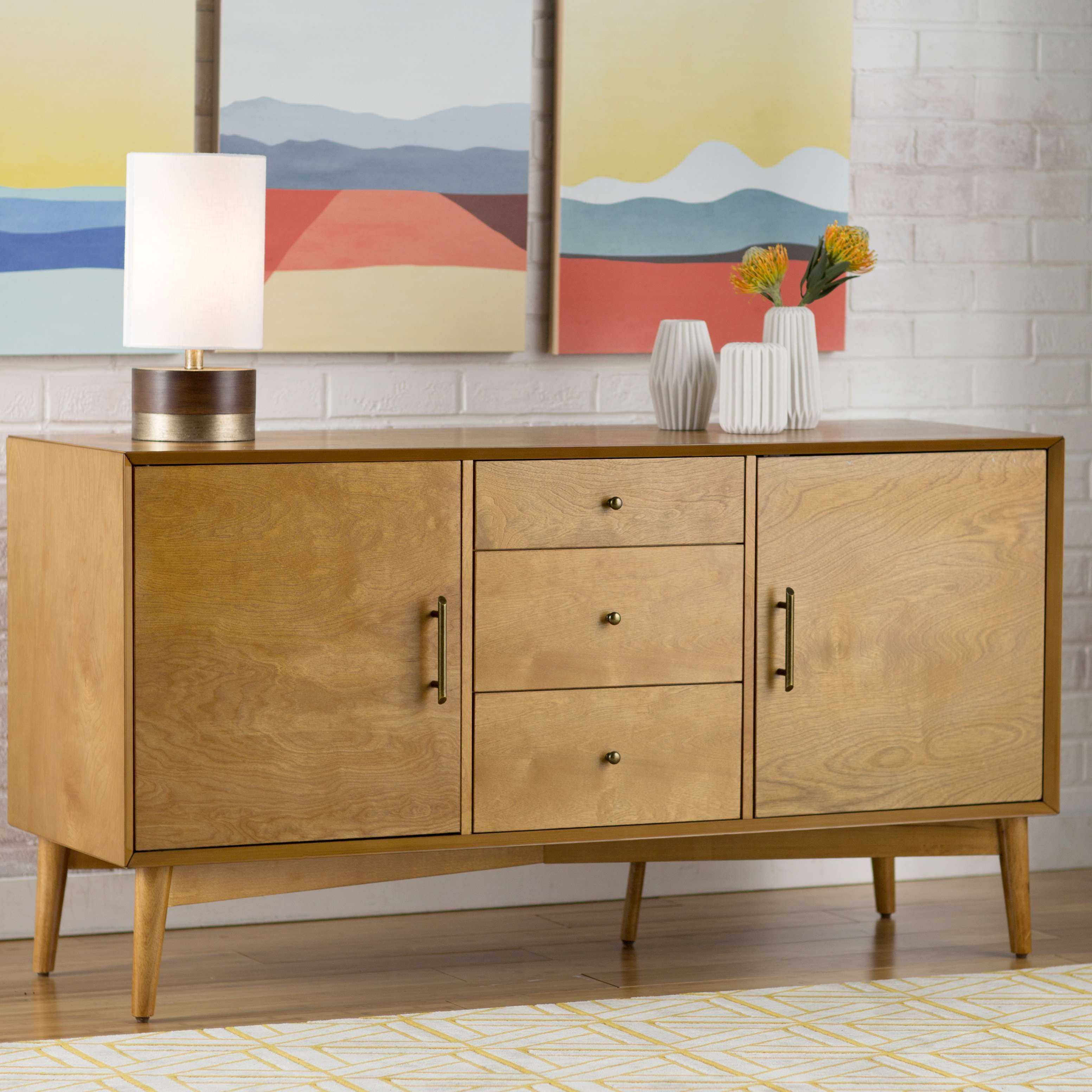 Langley Street Easmor Sideboard & Reviews | Wayfair Intended For Magic The Gathering Sideboards (View 17 of 24)