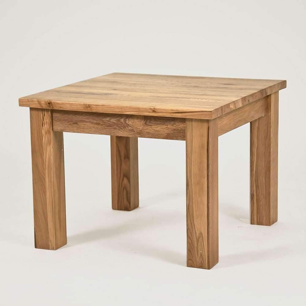 Lansdown Oak Square Coffee Table – Size: 600Mm With Regard To Most Up To Date Square Coffee Table Oak (View 7 of 20)