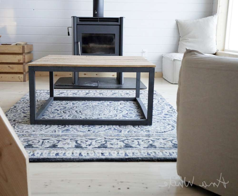 Latest Coffee Table Industrial Style Within Ana White (View 11 of 20)
