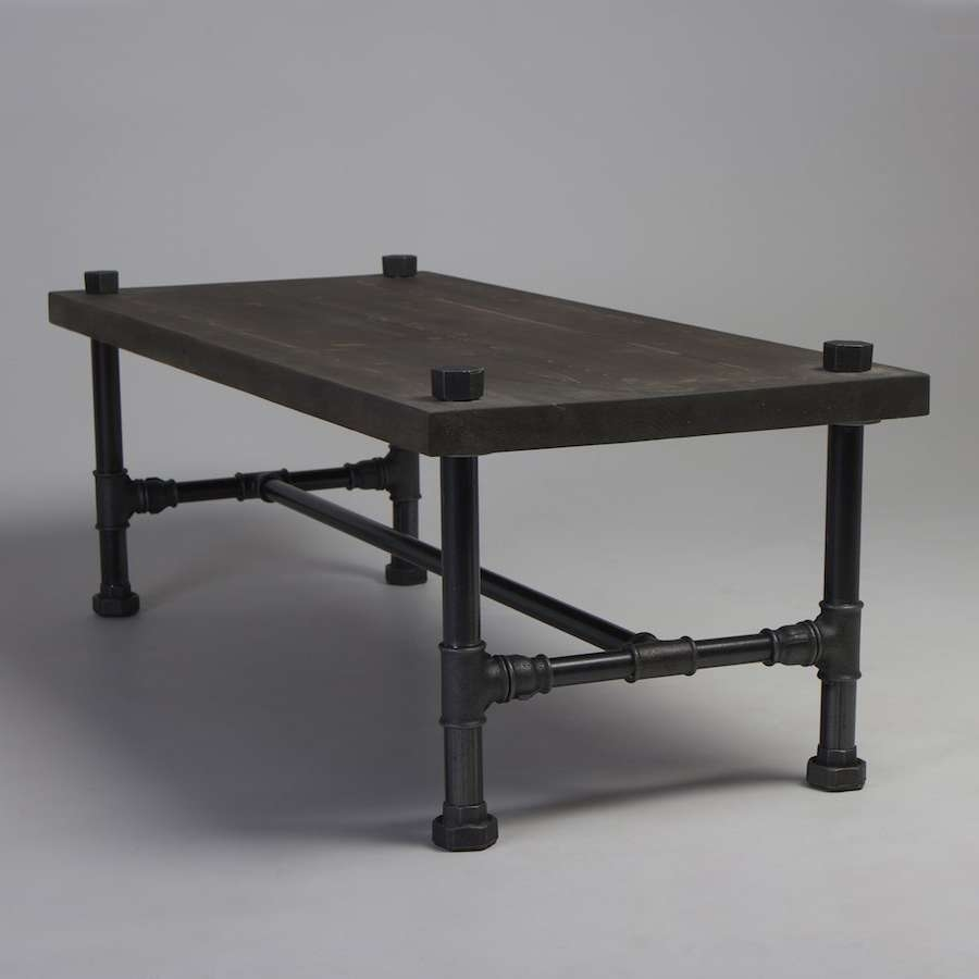 Latest Coffee Table Industrial Style Within Classic Industrial Style Coffee Table (View 10 of 20)